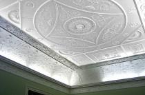 Ceiling in Adam Room