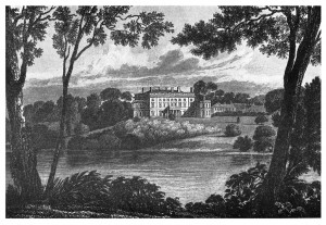 Engraving by J. P. Neale. c.1830