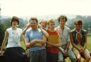 SU Suzie's Exec 1985-86