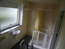 Haigh 1 room now converted to accessible bathroom dn
