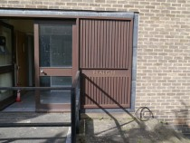 Haigh - front door and name dn