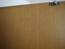 Kings Head 5 wardrobe door R detail dn