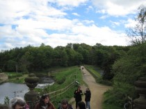 Bretton Hall Reunion 10May14 - history tour 1 on the dam