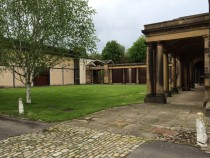 Bretton Hall Reunion 10May14 - history tour 14 Stable Block