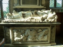 Tomb of Sir Thomas Wentworth and Wife, Grace.