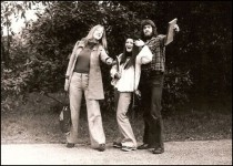 1974 - Gill Nelson, Annie Janik and Ian Russell