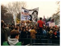 Student Union Demonstration 1988