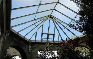 Roof Structure of Camellia House
