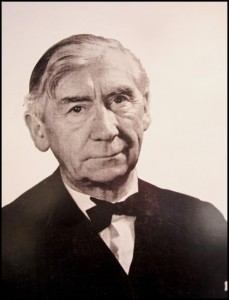 Sir Herbert Read - Photograph on exhibition at the NAEA - March, 2015