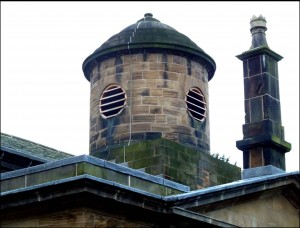 """Pepper-pot"" belfry."