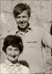 Derek and Margot Andrews - c. 1954