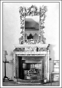 Fireplace in Lord Allendale's Dressing Room