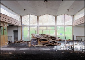 Preparing for Demolition - 2017