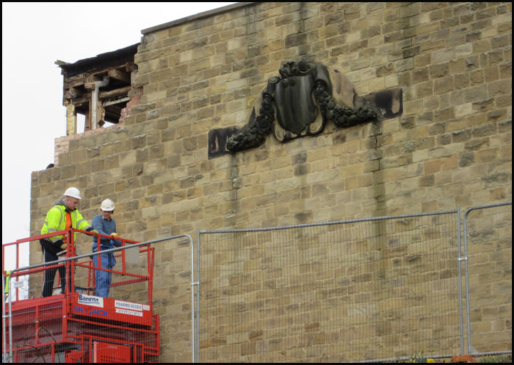Preparatory work to protect the Tympanum