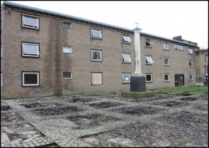 Conjoined hostels: Beaumont (left) and Allendale