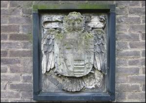Savile Crest - carved in 1588