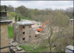 Photograph from the top floor of the Mansion