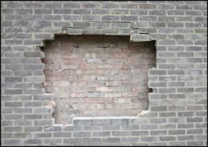 Savile Crest removed before demolition of building