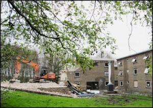 Demolition of Wentworth