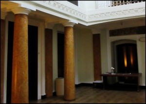 Pillars in the Vestibule