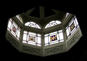 Lantern above Pillar Hall