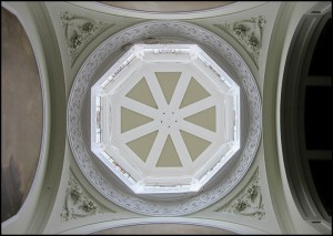 View of the Lantern from Pillar Hall