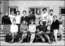 Residents of Dearne Hostel 1962-64