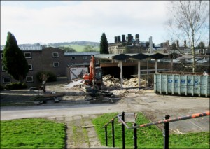 2017 - Demolition in Progress