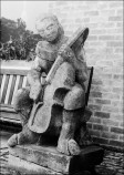 Sculpture by Bretton Art Student - 1952 (Photograph by Keith Davies - 1974)
