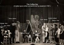 Performers identified by Shelagh Johnson (nee Allan).