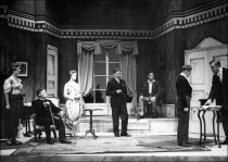 The Winslow Boy - Performed by Bretton students in Germany during 1957. (Image from Martial Rose.)