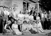 Brian Longthorne with his Chamber Choir of 1959. Image provided by Tony Crimlisk