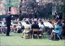 Bretton Wind Band - 1978. Image supplied by Alan Parker