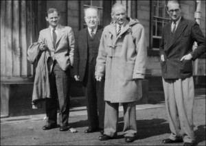 Informal visit to Bretton of Field Marshal Viscount Montgomery of Alamein on 1st April, 1950.