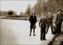 Lord and Lady Allendale with two of their children - c.1930s