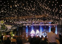 Gala Dinner and performance in marquee