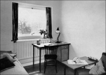 Typical Study Bedroom in 1962