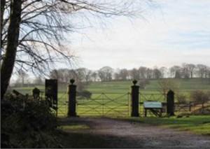 Gateway leading to High Hoyland