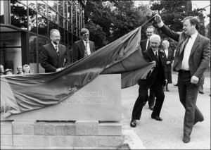 Formal Opening of the NAEA in 1991 by Kenneth Clark MP