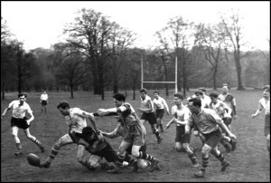 1957 Rugby Match