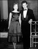 1958 - Liz Horner with Tony Crimlisk