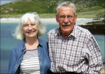 Shelagh and Bob Johnson in 2014