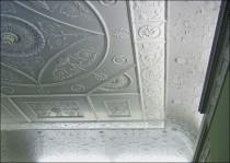 Ceiling of the Adam Room.