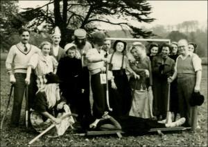 'Ceremonial' Hockey Team – Staff – 1952