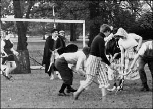 Staff v. Students Hockey Match – 1952