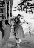 Bob Johnson and Shelagh Allan in 1957