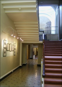 18th Century Main Stairway in the Mansion