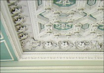 Ceiling in the Tapestry Drawing Room