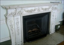 Fireplace in the Tapestry Drawing Room