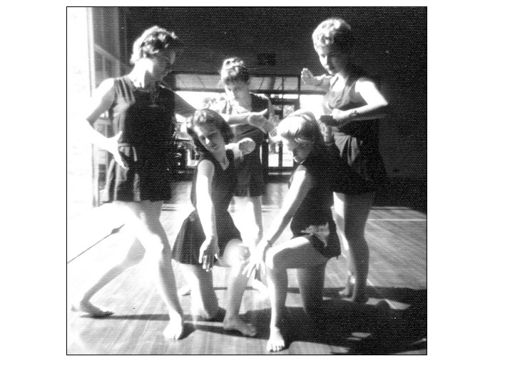 Movement session in College Hall - 1959